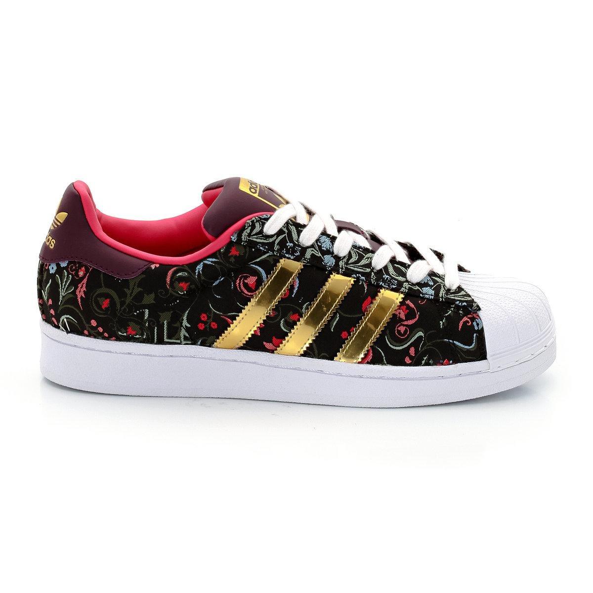 adidas superstar fleurs